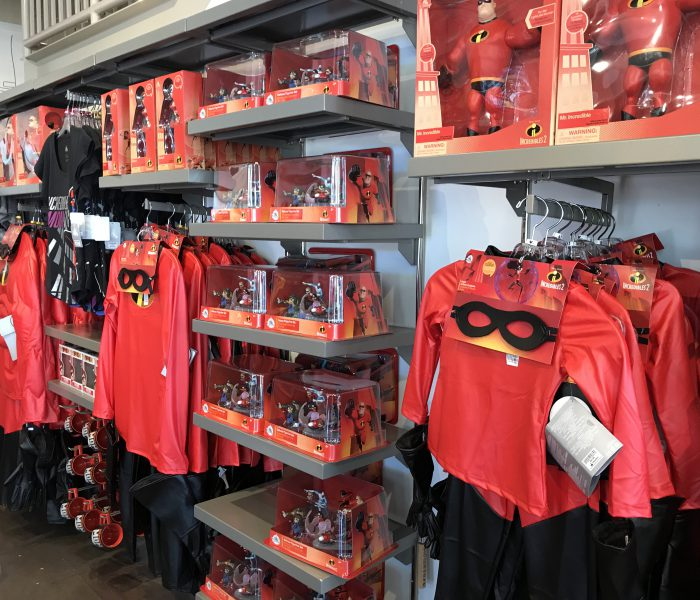 New Incredibles Gear at Disney Springs