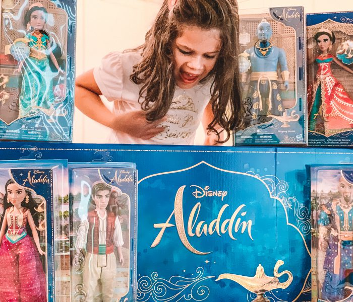 A Whole New World With Hasbro's Aladdin Dolls