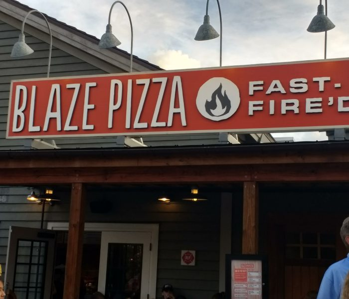 Welcome To Blaze At Disney Springs
