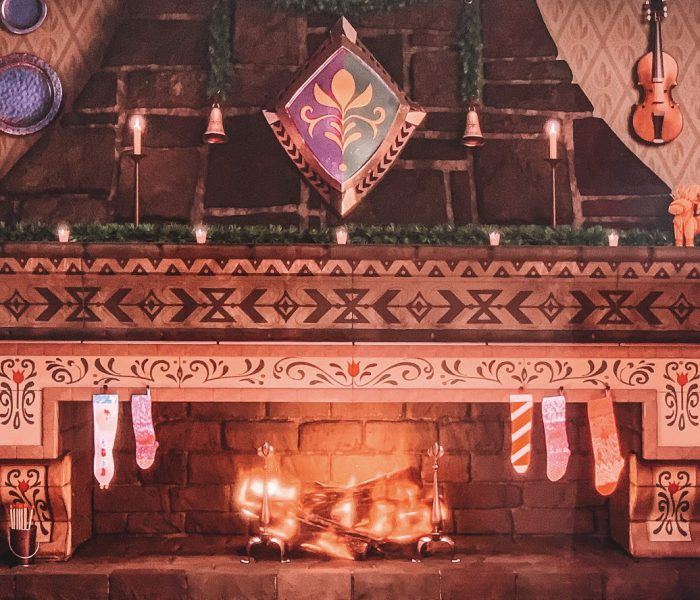 Feeling Cozy With This Arendelle Castle Fireplace From Disney+