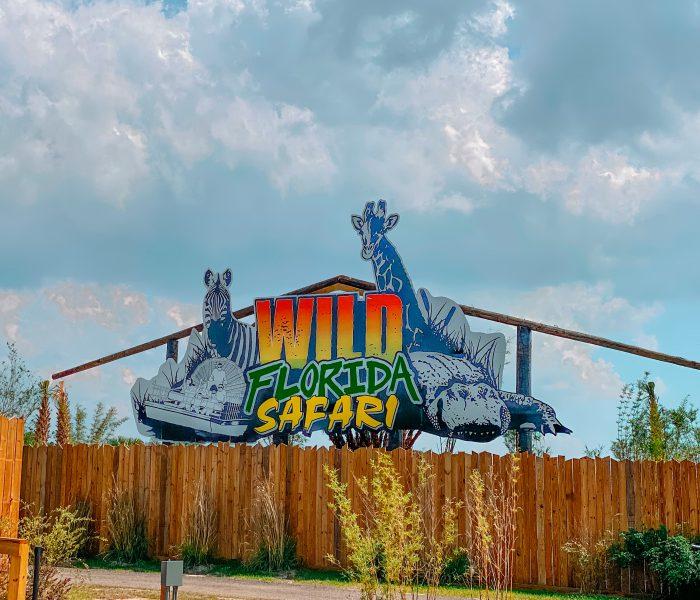 Finding Fun With Wild Florida Drive-Thru Safari Park and Water Play