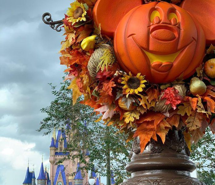 Halloween Fun At Disney's Magic Kingdom