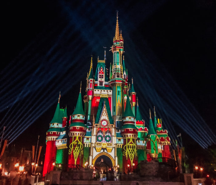 Celebrating Christmas At The Magic Kingdom