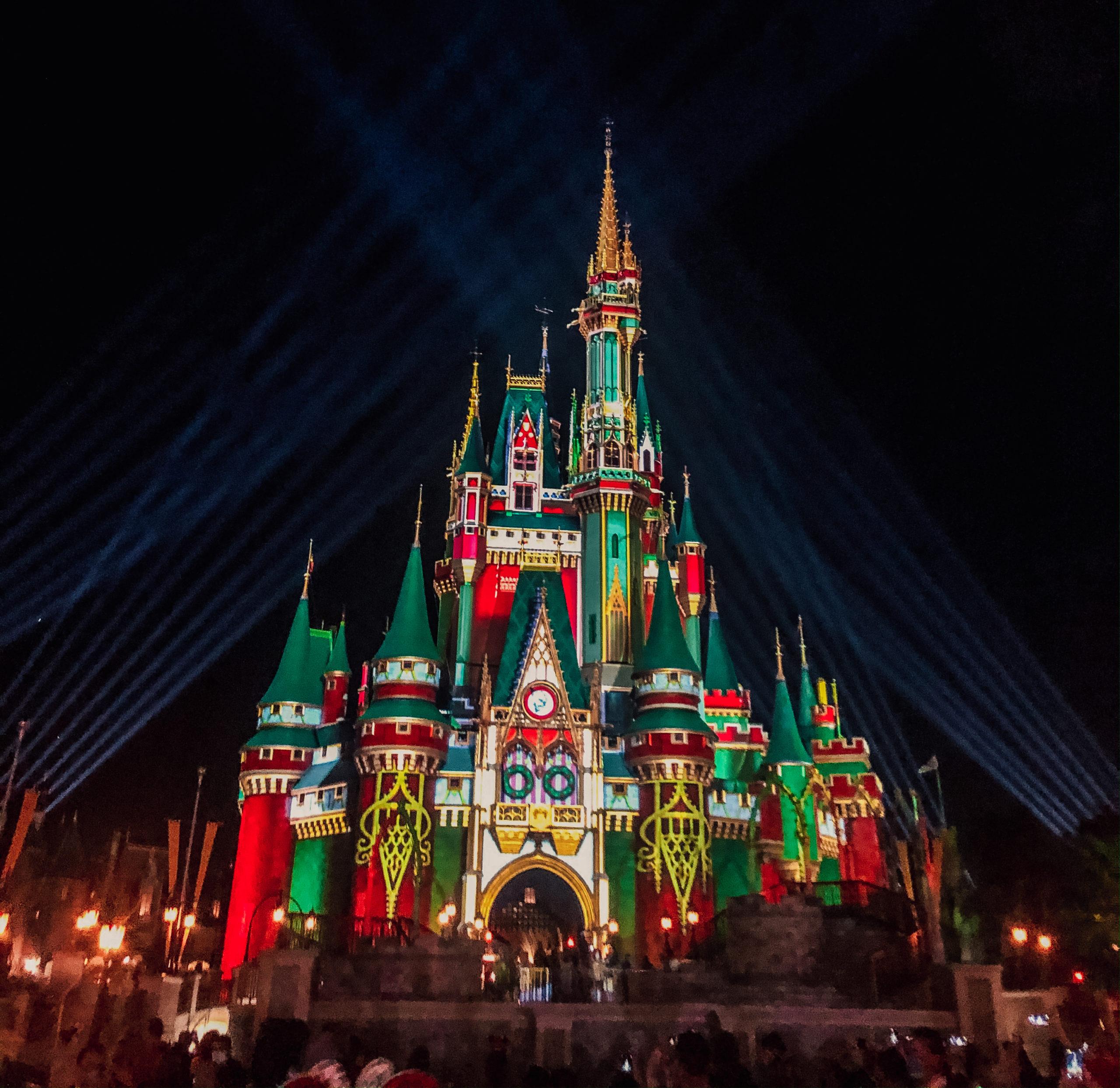 Celebrating Christmas At The Magic Kingdom