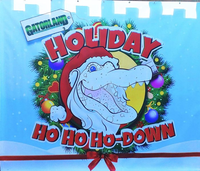 Gatorland's Holiday Ho, Ho Ho-Down