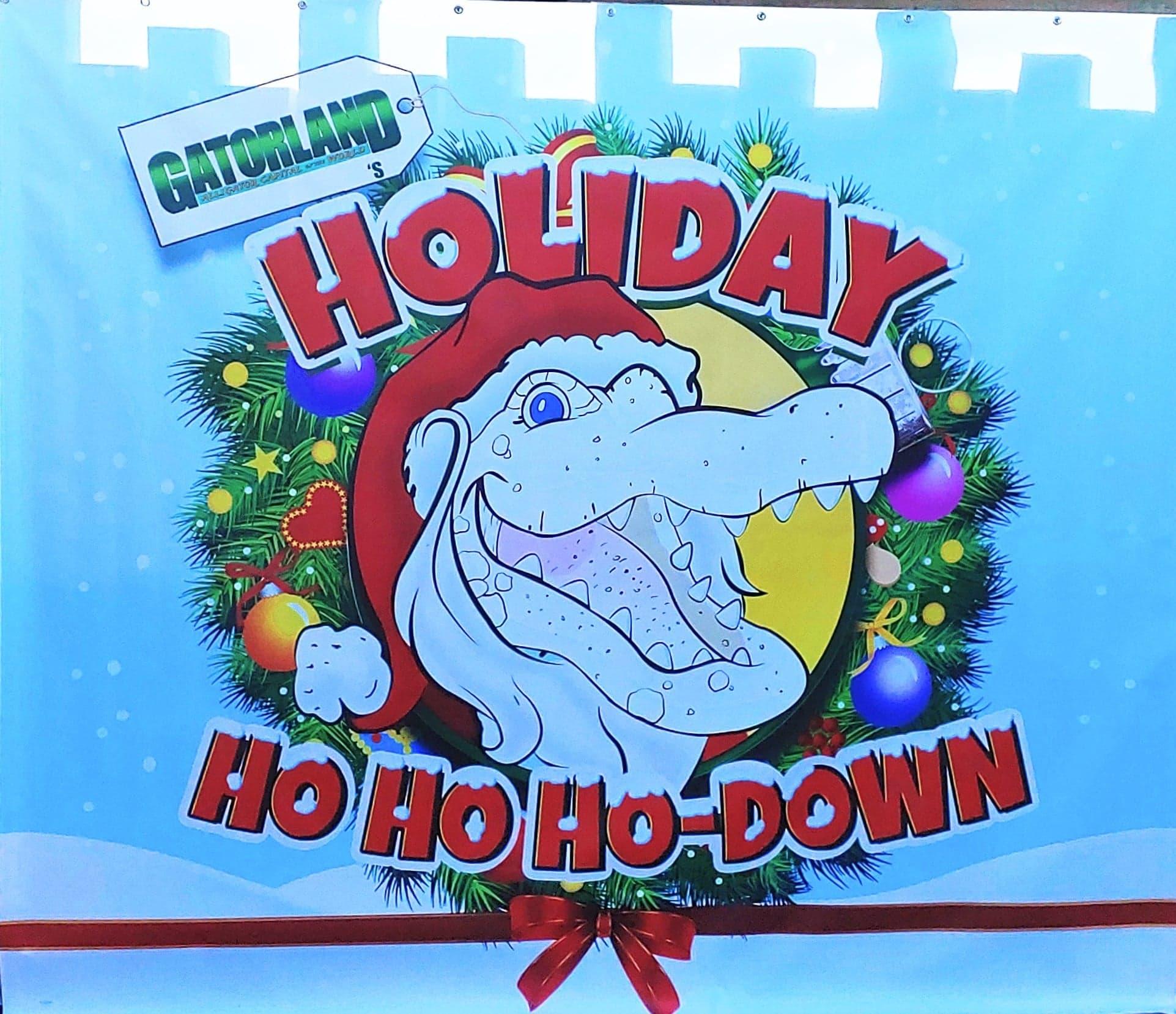 Gatorland's Holiday Ho, Ho Ho-Down